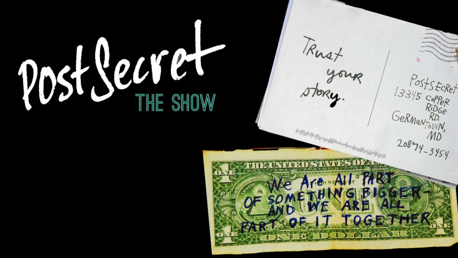 postsecret the show tobin center for the performing arts san